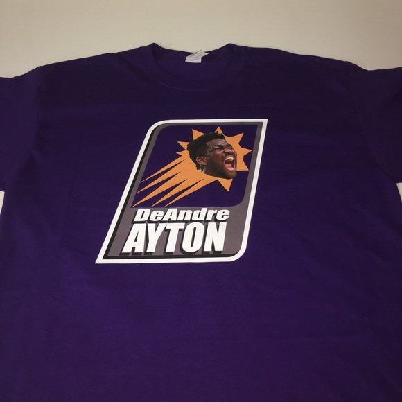 detailed look d0fb9 09ccc Phoenix Suns DeAndre Ayton Shirt NWT